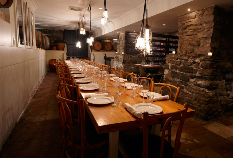 Top restaurants for private dining susan bandler for Best restaurants with private dining rooms toronto