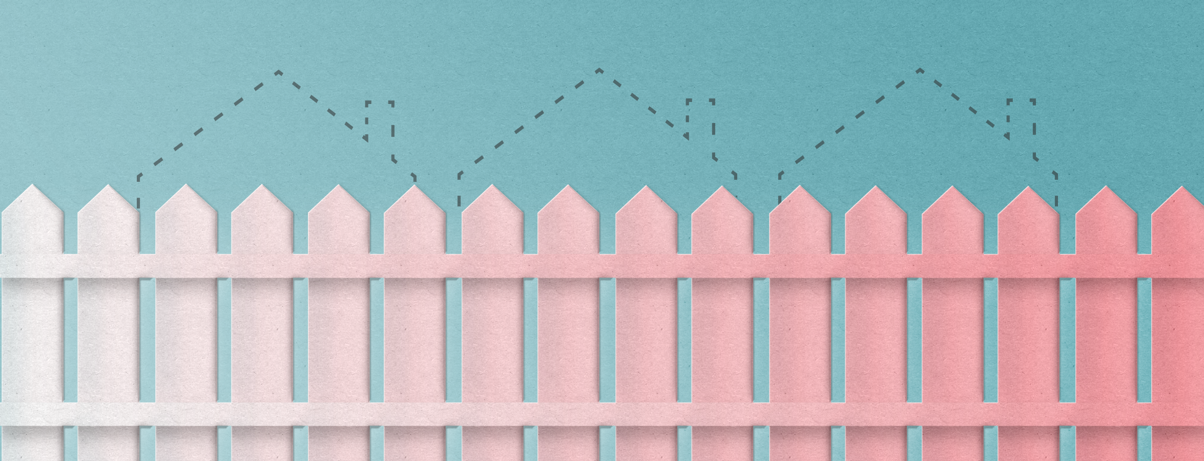 Q: What's on the Other Side of the Millennial Pink Picket Fence?
